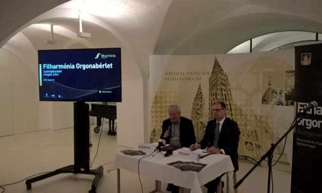 Orgonabérlet Szegeden – Együttműködés a Filharmónia Magyarország és a Szeged-Csanádi Egyházmegye között
