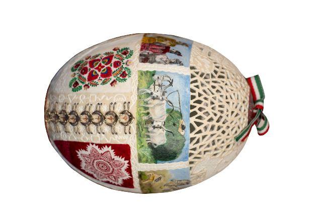 A kecskeméti Zsigóné Kati elkészítette az Ország Tojását