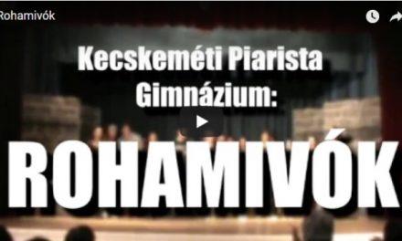 A kecskeméti Piarista Diákszínpad bemutatta a Rohamivók c. musicalt