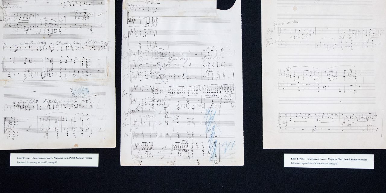 Kézzel írt kották a Szabadságharc éveiből