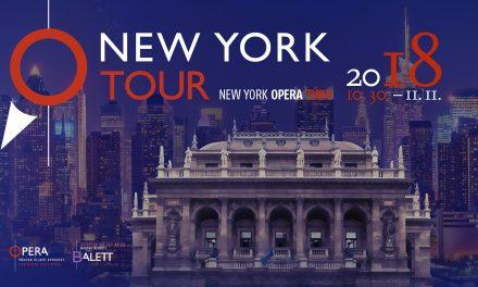Nagyszabású New York-i túrára indul ősszel az Opera