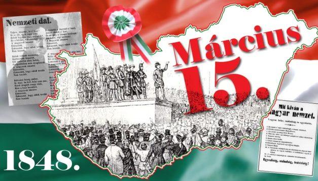 ÉKES, DICSŐ MÁRCIUS – A 170 éves évforduló tiszteletére