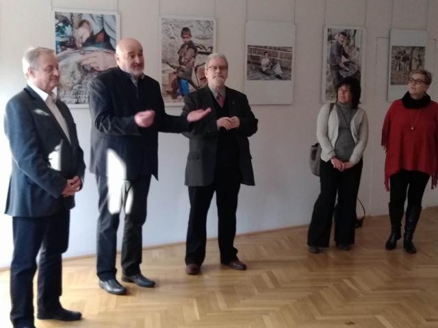 Nijat AYVAZ fotográfus kiállításának megnyitója
