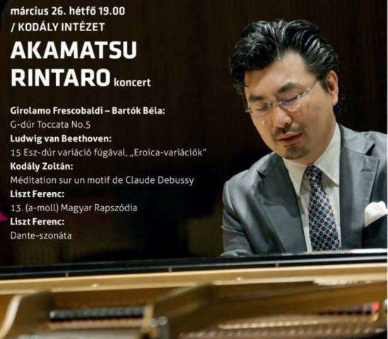 Akamatsu Rintaro, a sokoldalú japán zongoraművész