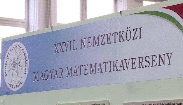 Simon Dániel Gábor első a Nemzetközi Magyar Matematika versenyen