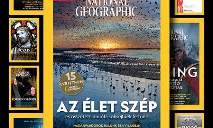 15 éve jelent meg először a magyar National Geographic