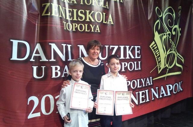 Márciusi díjeső a Kecskeméti M. Bodon Pál Zeneiskolában