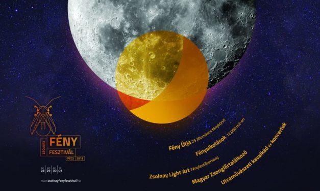 Két hold fog fényleni Pécsett a Zsolnay Fényfesztiválon