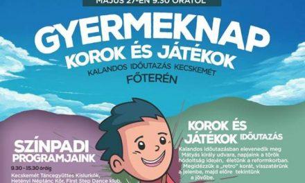 A Hírös Agóra gyermeknapi programjai és nyári táborai