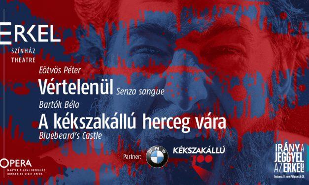 Kékszakállú100 – Centenáriumi fesztivál az Erkel Színházban