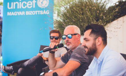 Sztárokkal és családi programokkal ünnepelte az apákat az UNICEF