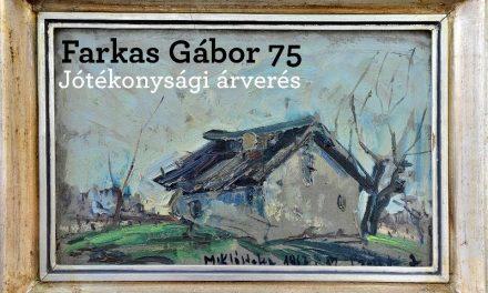 Jótékonysági árverés Farkas Gábor emlékére