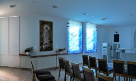 Kalkuttai Szent Teréz-kápolna a 100 éves Országos Orvosi Rehabilitációs Intézetben