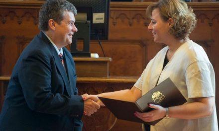 Kósa András Csaba Kecskemét Ifjúságáért díjat kapott
