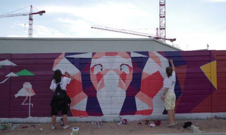 Óriási oroszlán költözött a Hungária körúti felüljáróra – Közösségi városszépítés az Állatkertnél