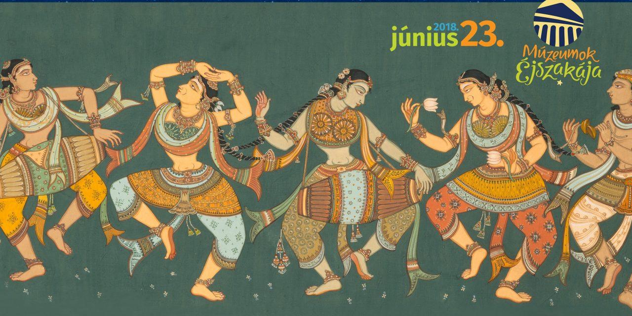Ezerszínű India – Múzeumok Éjszakája a Hopp Ferenc Ázsiai Művészeti Múzeumban