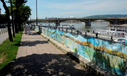 Art of Danube – Budapesten járt a világ leghosszabb dunai képe