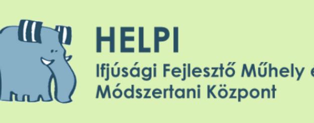 A HELPI Ifjúsági Fejlesztő Műhely felhívása