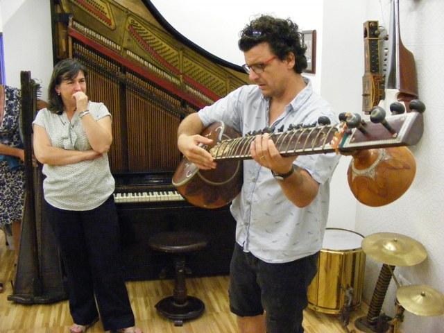 Múzeumi szakmai nap egzotikus hangszerek bűvöletében