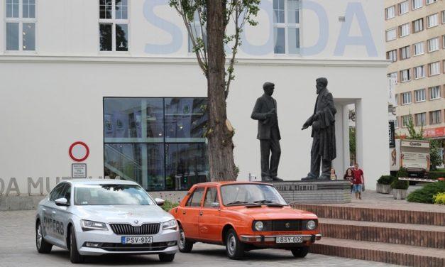Kalandozás a jó cél érdekében egy '79-es Škodával