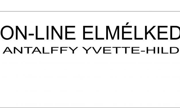 On-line elmélkedések – Antalffy Yvette könyvének ajánlója