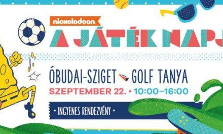 A játék napja: idén is ingyenes gyerekbuli az Óbudai-szigeten – a Nickelodeon jóvoltából