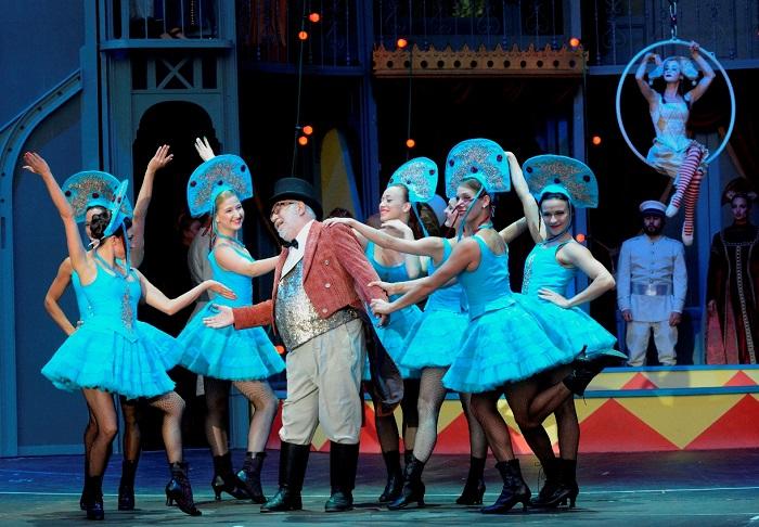 Nagyoperettel indul az évad – A cirkuszhercegnő a Miskolci Nemzeti Színházban