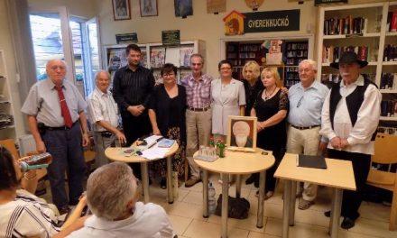 Az ŐsFAlköz alkotói Budapesten a Krúdy Kör vendégei voltak