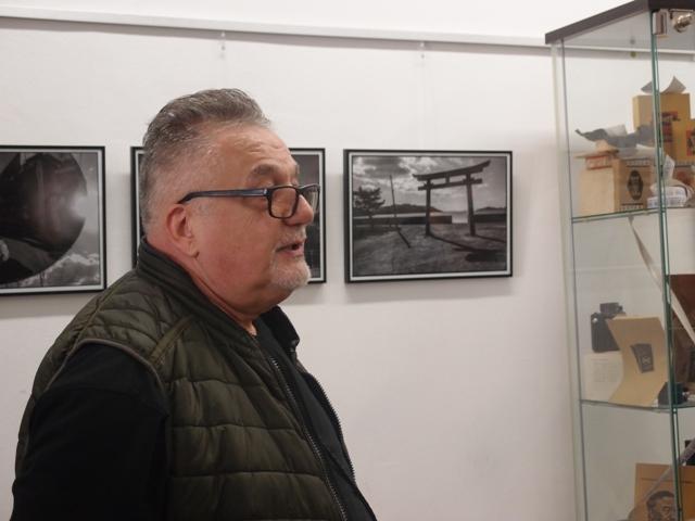 Gaál Zoltán fotográfus kiállítása a Kiss Fotó Galériában
