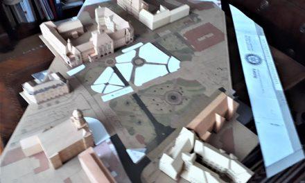Tapintható láthatatlan projekt – Szemők Zsuzsanna bronzmakettje