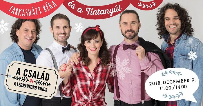 Farkasházi Réka és a Tintanyúl zenekar különleges karácsonya