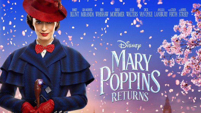 Mary Poppins visszatér a Banks családhoz – és a mozikba