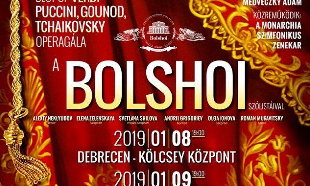 A világhírű moszkvai Bolsoj Színház szólistái Magyarországon