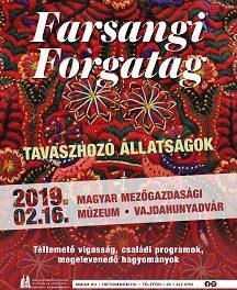Farsangi Forgatag – Tavaszhozó állatságok a Vajdahunyadvárban