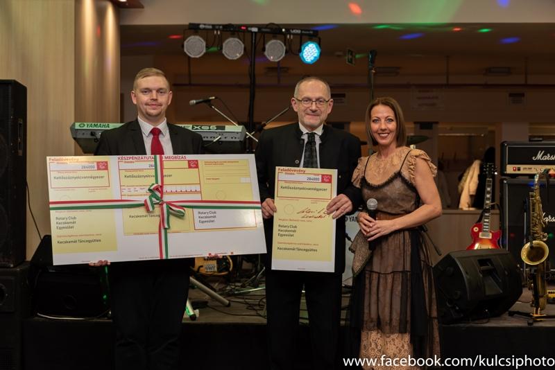 Jótékonykodás magas fokon – Rotary Club