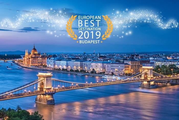 Budapest a legjobb európai úti cél!