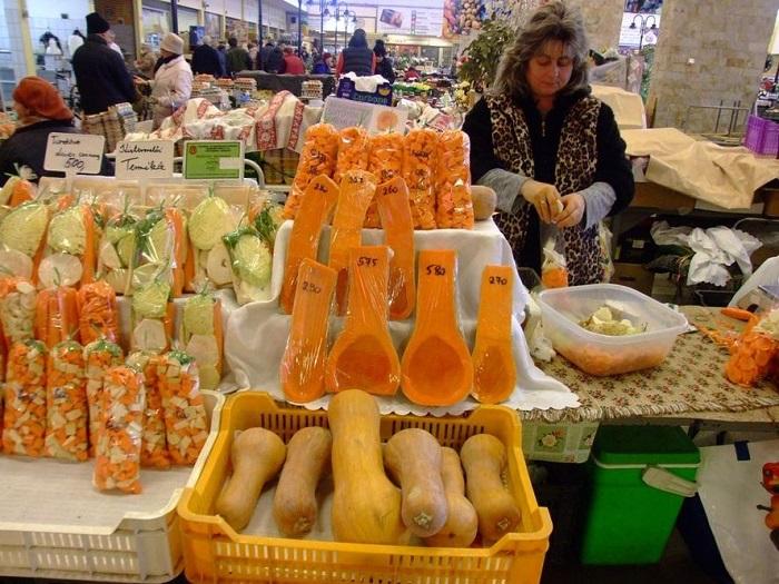 Szezonális téli finomságok a piacon