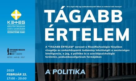 A politika tágabb értelme – A pódiumbeszélgetés-sorozat folytatódik