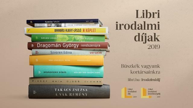 Libri irodalmi díjak 2019 – Melyik tíz könyvre szavazhatunk?