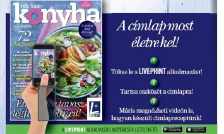 Életre kel a Nők Lapja Konyha címlapja
