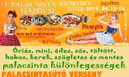 Belvárosi Palacsinta Fesztivál Kecskeméten