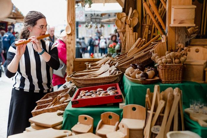 Megnyílt a Budapesti Tavaszi Vásár a belváros szívében, négy helyszínen