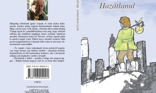 Botz Domonkos író újabb novelláskötete: Hazátlanul