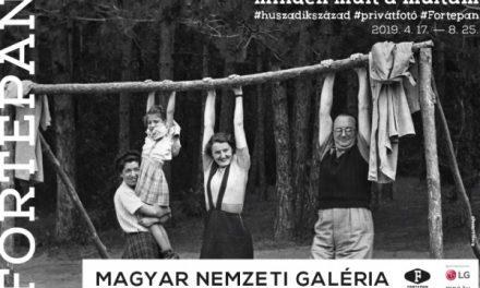 A Fortepan fotógyűjtemény kiállítása a Várban
