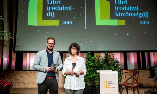 Szerdán este ünnepélyesen átadták a Libri irodalmi díjakat