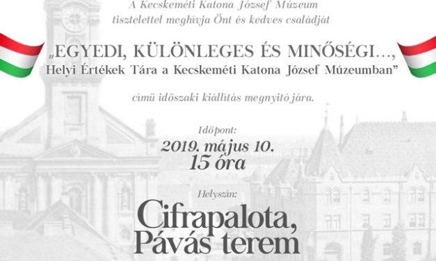 Helyi Értékek Tára a Kecskeméti Katona József Múzeumban