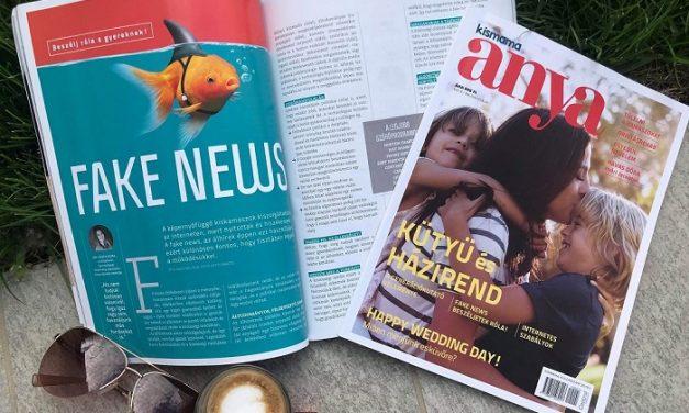 A Kismama magazin külön száma, az ANYA megcélozta az Y-generációt is!