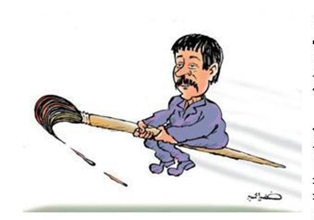 Görbe tükör, avagy a karikatúra világa – Beszélgetés Bessam Faraj karikaturistával