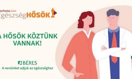 Ismét az ország Egészséghőseit keresi a HáziPatika.com