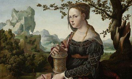 Köszöntő Szent Mária Magdolnához, a védőszentemhez